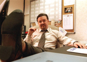 David Brent isn't transferring to Dunder Mifflin
