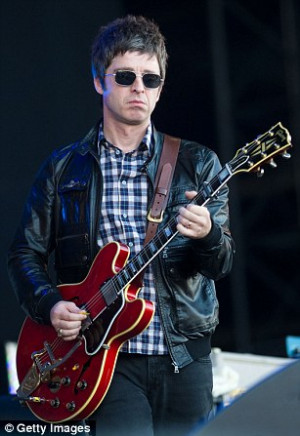 Scathing: Singer-songwriter Noel Gallagher (left) rubbished rapper Jay ...