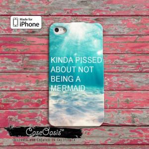 Mermaid Funny Quote Ocean Beach Kinda Pissed About Not Being A Mermaid ...