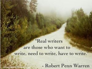 Robert Penn Warren quote