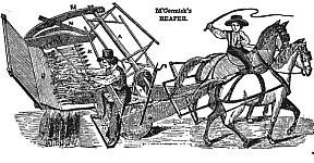 Mechanical Reaper Mccormick