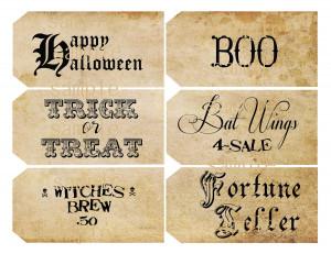 Halloween Sayings HD Wallpaper