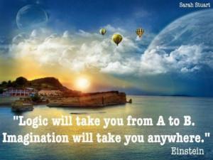 Imagination - Einstein Image Quotes