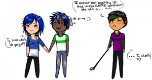 Overprotective Brother Anime Ty the overprotective brother. by destynd