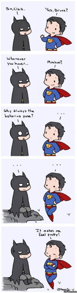 Batman vs. Superman - Funny Pictures, MEME and Funny GIF from GIFSec ...
