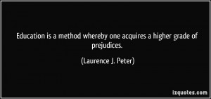 More Laurence J. Peter Quotes