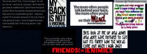 untrustworthy friends Profile Facebook Covers