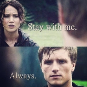 Always I will #stay #with #mockingjay #me #happy #hunger #games # ...