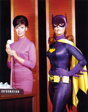 She was certainly best known for playing Batgirl, but I'm sure many ...