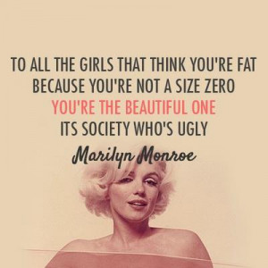 beautiful, girls, marilyn monroe, quotes, society, think