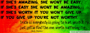 Truth is..Bob marley cover