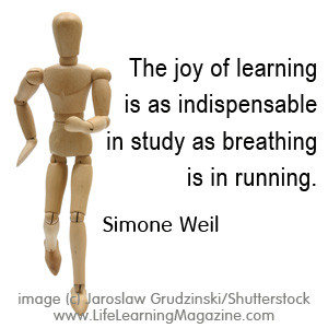 quote about learning by Simone Weil