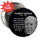 Herbert Spencer: Evolution Quote: Wise Man, Descendant of Past, Parent ...