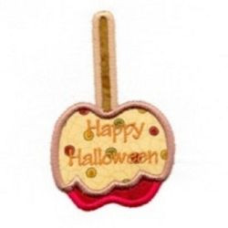 Caramel Apple Applique- 2 Sizes! | Halloween | Machine Embroidery ...