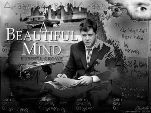 Beautiful Mind starring Russell Crowe