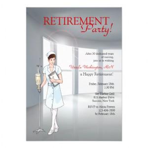 Nurse Retirement Party Ideas Special nurse retirement party