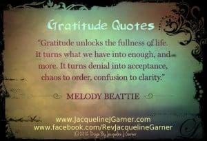 Gratitude Inspirational Quotes