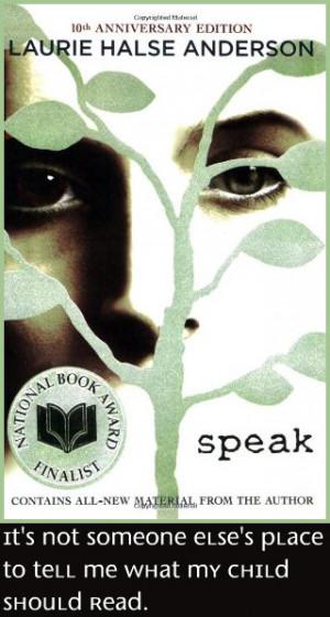speak the book tree speak the book quotes speak the movie speak ...