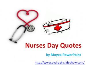 Nurse quotes for nurses day