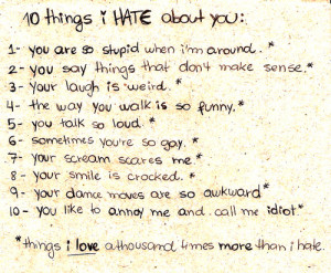 20 + I Hate You Quotes