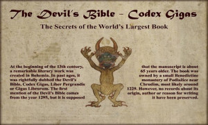 Codex Gigas -The Devils Bible