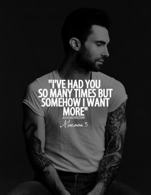 Maroon 5 Quotes Tumblr