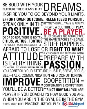 Volleyball Team Quotes Tumblr Volleyball quotes - viewing