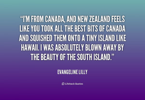 New Zealand Quotes