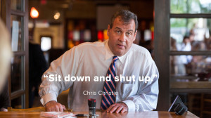 ... do you stop the man-hug?' Christie's best quotes over the years