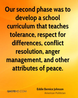 Eddie Bernice Johnson Peace Quotes