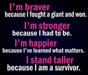 breast cancer survivor sayings