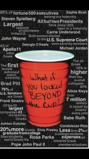 LOOK BEYOND THE SOLOCUP