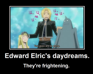 Edward Elric's daydreams