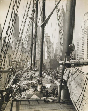 Berenice Abbott photo library -
