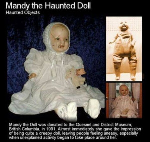 Not much is known about the origins of Mandy except that she was made ...