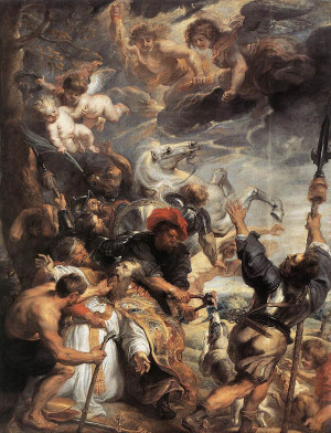 ... Martyrdom of St Livinus -- oil painting Peter Paul Rubens (1577-1640