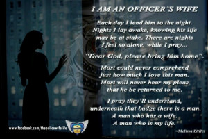 Police officers wife