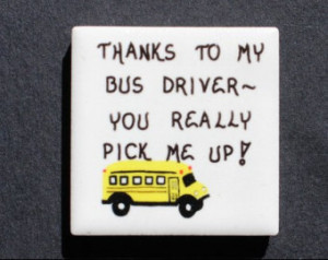 BUS DRIVER APPRECIATION POEMS