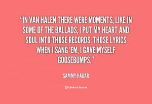 Van Halen Quotes