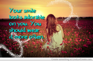 cute, girls, inspirational, it does, quote, quotes