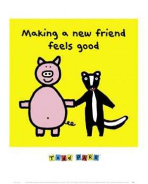 Making a New Friend Feels Good ~ Fine-Art Print