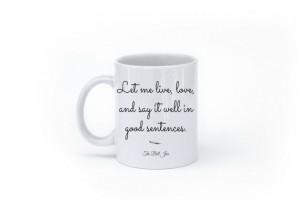 Sylvia Plath Mug - The Bell Jar Mug - Quote Mug - Literary Gift ...