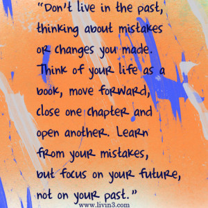 Quotes About Learning From Your Mistakes And Moving On Thinking about ...