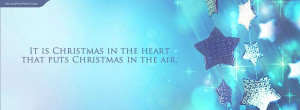 look awesome with a christmas in the heart puts christmas there quote ...
