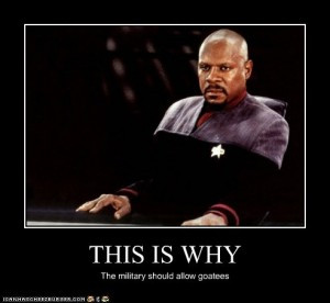 Now when it comes to Sisko related memes, they are few in number, and ...