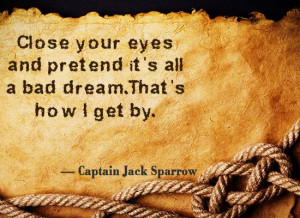 Jack sparrow quote on inspiration