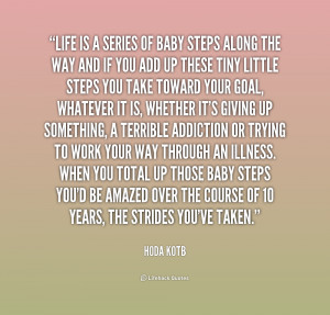 Baby Steps in Life Quotes