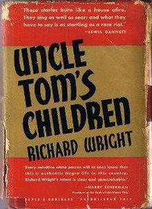 First edition cover with quote from