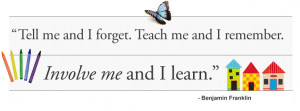 tell me and i forgot-learning quote