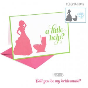 Will You Bridesmaid Card